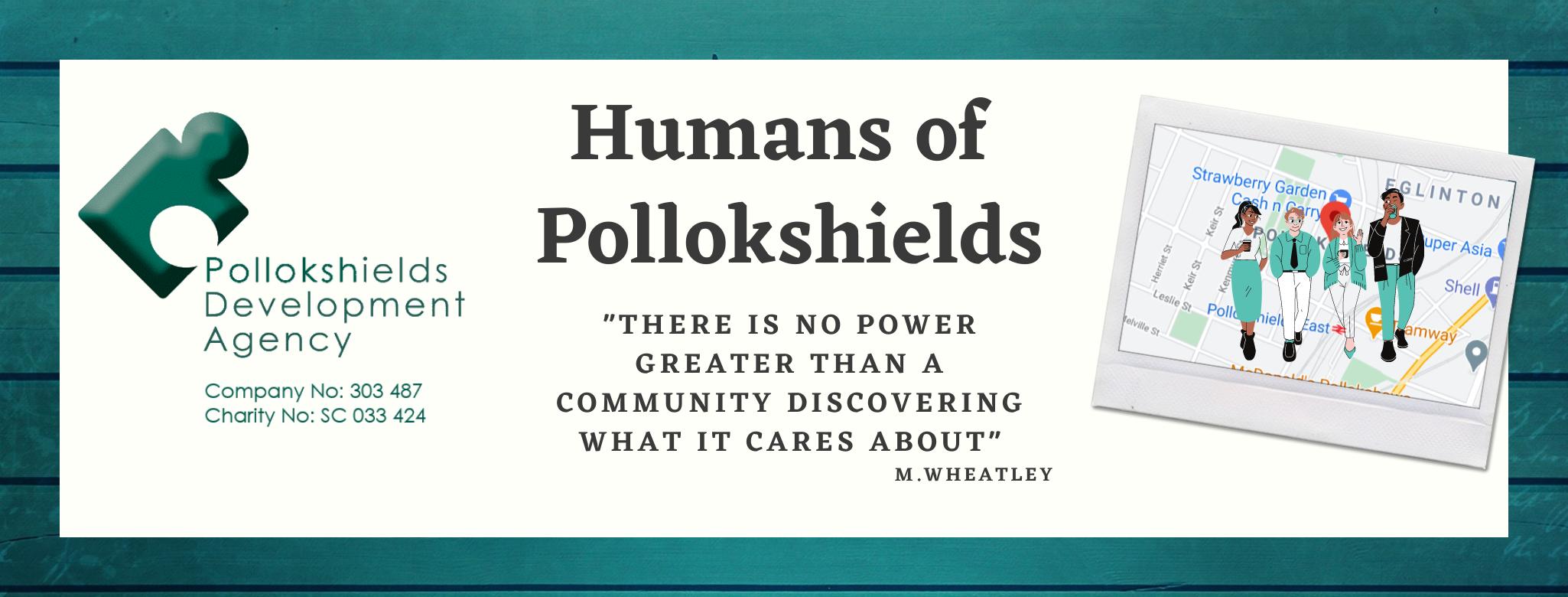 humans of Pollokshields banner